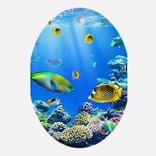 Sea Life Ornament (Oval)