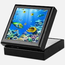 Sea Life Keepsake Box