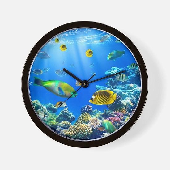 Sea Life Wall Clock