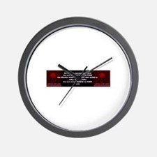 PSS FREEDOM FOR FREE Wall Clock