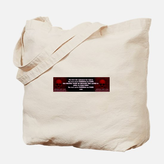 PSS FREEDOM FOR FREE Tote Bag