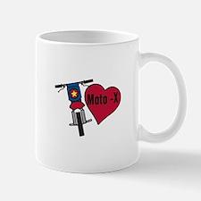 Love Moto-X Mugs