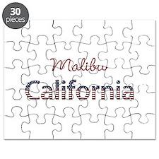Custom California Puzzle