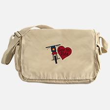 Luv to Ride Messenger Bag