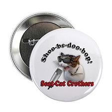 "Scat Cat Design 2 2.25"" Button"