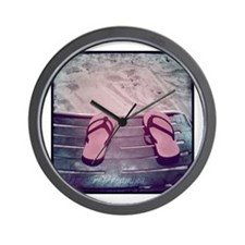 SummerDreamingBeach.png Wall Clock