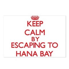 Keep calm by escaping to Hana Bay Hawaii Postcards