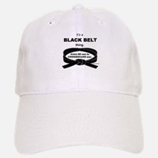Black Belt Thing Baseball Baseball Cap