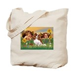 Angels & Cavalier Tote Bag