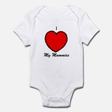 I Love My Mummies Infant Bodysuit