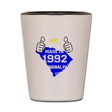 1992 Shot Glass