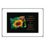 Earth Laughs in Flowers Banner