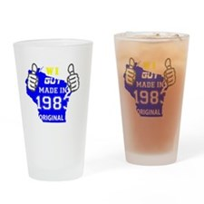 Made in 1983 Drinking Glass