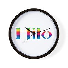 Hilo Wall Clock
