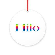 Hilo Ornament (Round)