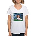 Lily Pond (#5) / Cavalier Women's V-Neck T-Shirt