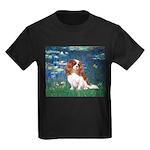 Lily Pond (#5) / Cavalier Kids Dark T-Shirt