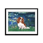 Lily Pond (#5) / Cavalier Framed Panel Print