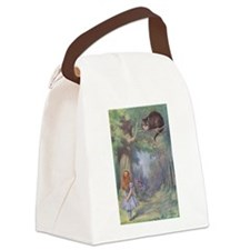 ALICE CHESHIRE CAT 12x17.png Canvas Lunch Bag