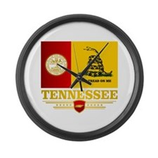 Tennessee DTOM Large Wall Clock