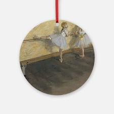 edgar degas ballerina 14 Ornament (Round)