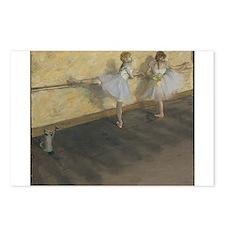 edgar degas ballerina 14 Postcards (Package of 8)