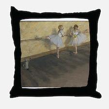 edgar degas ballerina 14 Throw Pillow