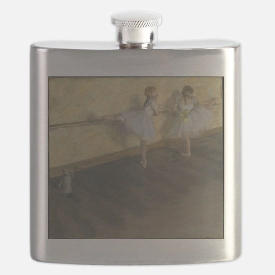 edgar degas ballerina 14 Flask
