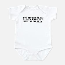 Word Size Infant Bodysuit