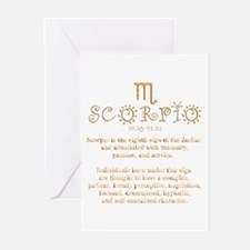 Scorpio Greeting Cards (Pk of 10)