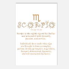 Scorpio Postcards (Package of 8)