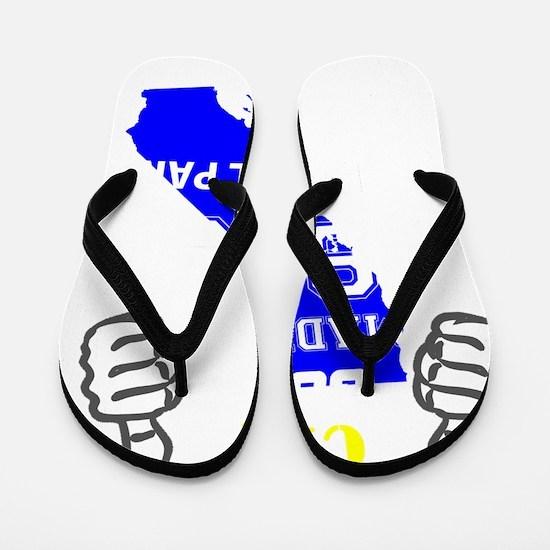 Funny Made california Flip Flops