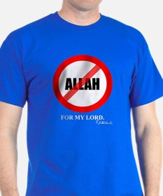 "R.J. Godlewski's ""No Allah for my Lord"" T-Shirt"