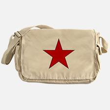 Red Star Messenger Bag