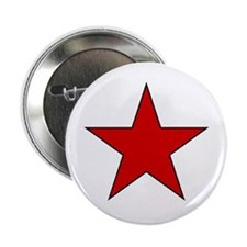 """Red Star 2.25"""" Button"""