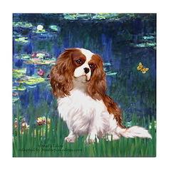 Lily Pond (#5) / Cavalier Tile Coaster