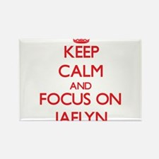 Keep Calm and focus on Jaelyn Magnets