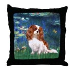 Lily Pond (#5) / Cavalier Throw Pillow