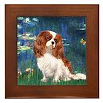 Lily Pond (#5) / Cavalier Framed Tile