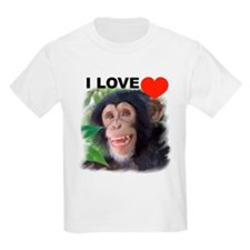 chimp1LOVE T-Shirt