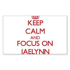 Keep Calm and focus on Jaelynn Decal