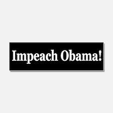 Funny Impeachment Car Magnet 10 x 3