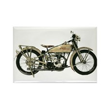 1926 Motorcycle Rectangle Magnet