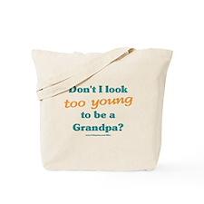 Young Grandpa Tote Bag