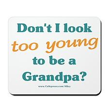 Young Grandpa Mousepad