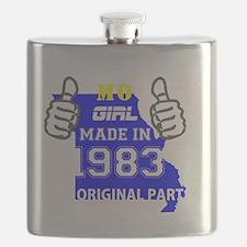 Cute Made in 1983 Flask