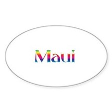 Maui Oval Decal