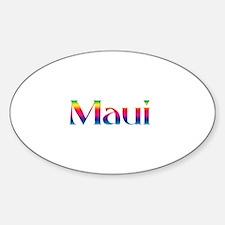 Maui Oval Decal