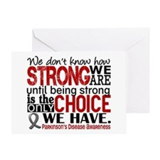 Parkinsons How Strong We Are Greeting Card