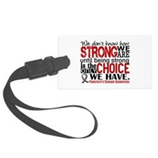 Parkinsons How Strong We Are Luggage Tag